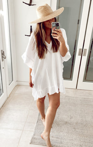 Linda Tunic ~ White