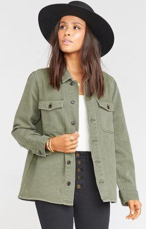 Army Jacket ~ Olive Green