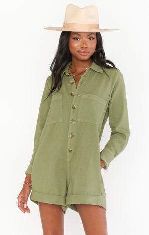 Tegan Jumper ~ Army Green