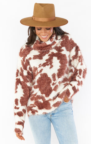Frances Sweater ~ Holy Cow Knit