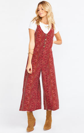 Goulding Jumpsuit ~ Hutton Stripe Spandy