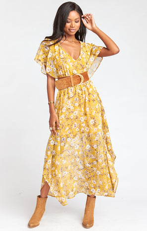 Paloma Flutter Dress ~ Flirtin Floral