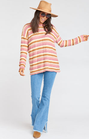 Bertie Sweater ~ Reagan Stripe Knit