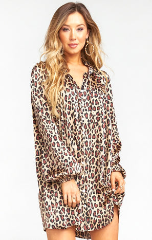 McKenna Dress ~ Cheetah Fever