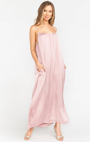 Regan Maxi Dress ~ Petal Pink