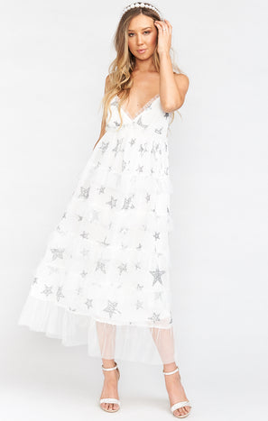 Phillippa Maxi Dress ~ Star Bright Star Light