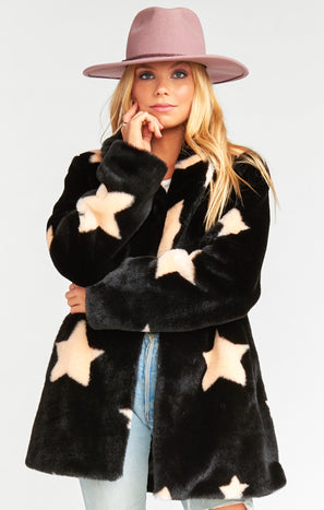 Colorado Jacket ~ Starry Daze Faux Fur