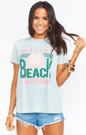 Thomas Tee ~ Malibu Beach Graphic