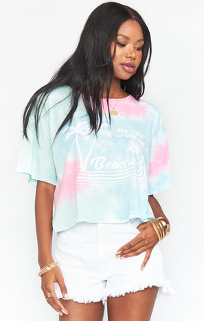Bridger Tee ~ Hangin with my Beaches Graphic