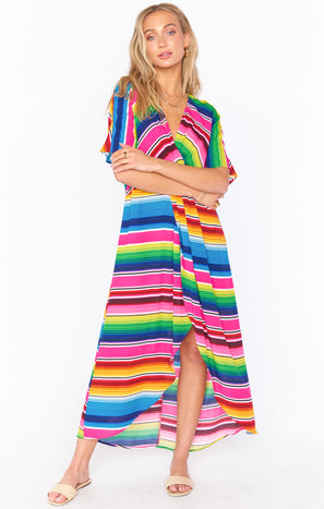 Get Twisted Maxi Dress ~ Serape Party