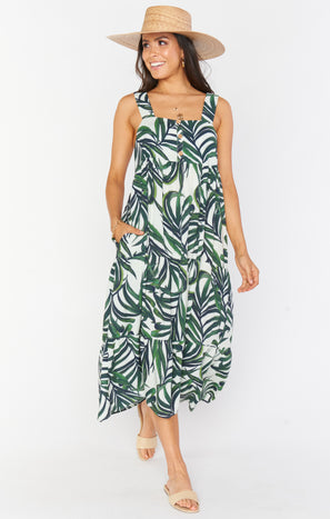 Charlotte Dress ~ Peruvian Palm