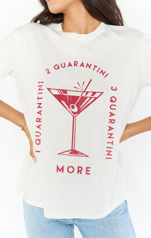 Thomas Tee ~ Quarantini Graphic