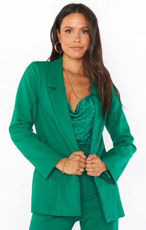 Major Blazer ~ Green Suiting