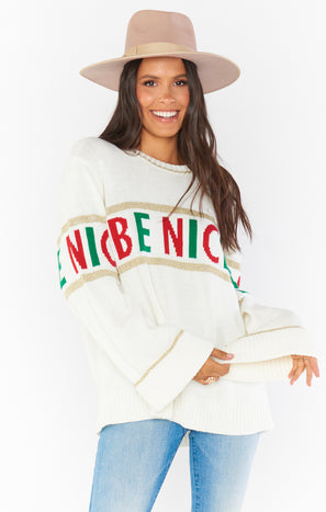 Andes Sweater ~ Be Nice Knit