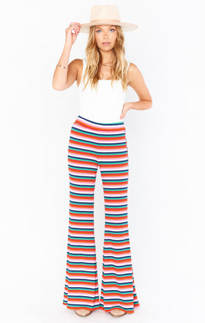 Jordyn's Lazy Pants ~ Montego Stripe