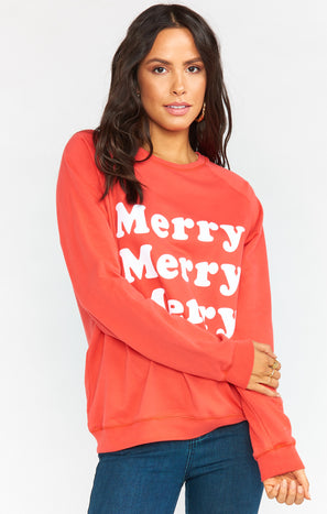 Cole Sweatshirt ~ Merry Merry Graphic