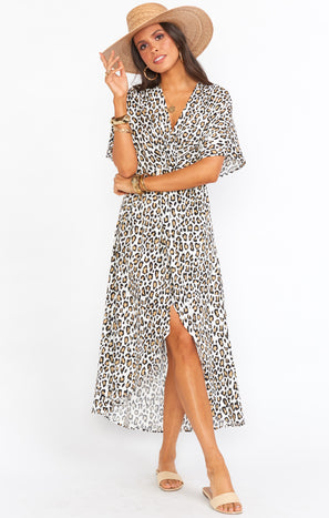 Get Twisted Maxi Dress ~ Wilma Wildcat