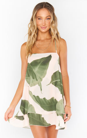 Christy Dress ~ Queen Palms