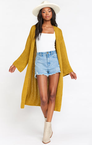 Farida Sweater ~ Citrine Knit