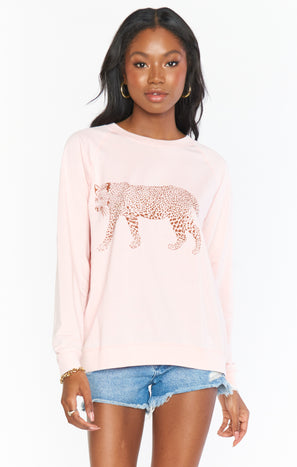 Posie Pullover ~ Jungle Leopard Graphic