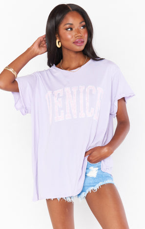 Airport Tee ~ Venice Graphic