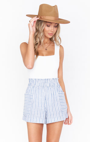 Disilvio Shorts ~ Nantucket Stripe