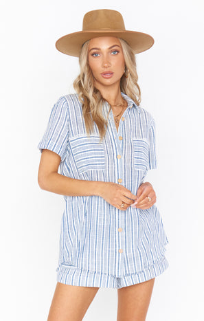 Antonelli Top ~ Nantucket Stripe