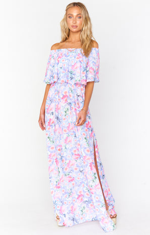 Hacienda Maxi Dress ~ Poppy Daze