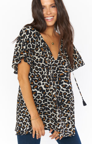 Juana Tassel Tunic ~ Cheetah Club