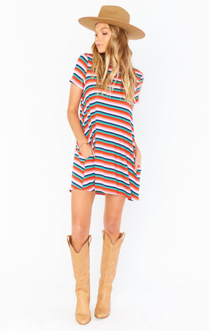 Em Mini Dress ~ Montego Stripe