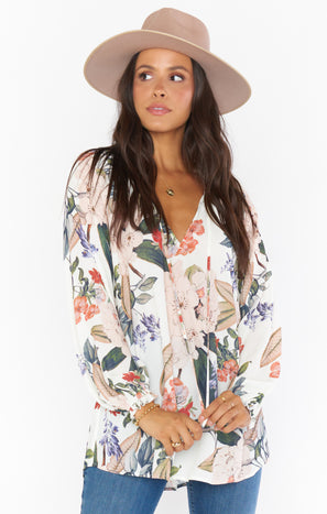 Charlene Tunic ~ Enchanted Florist