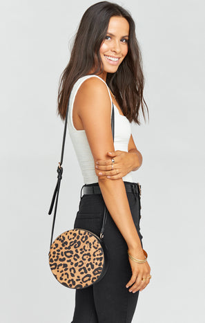 Nirah Circle Bag ~ Leopard