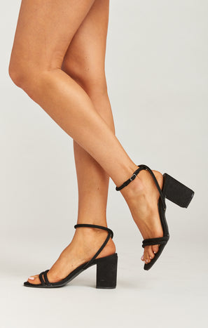 Matisse No Return Block Heels ~ Black