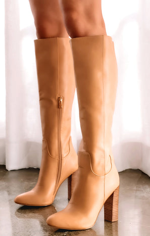 Billini Pierce High Boot ~ Desert Tan