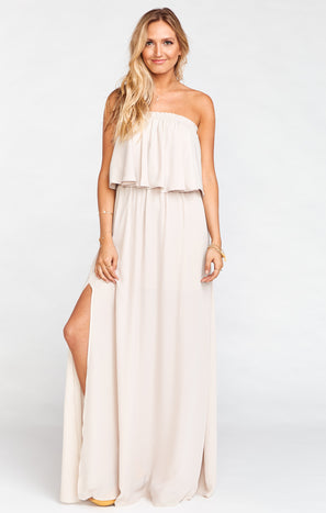 Hacienda Maxi Dress ~ Show Me the Ring Crisp