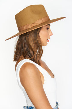 Lack of Color Teak Rancher Hat ~ Light Brown