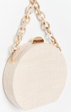 This Love Round Bag ~ Beige