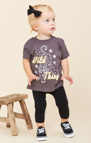 Wolfie Tee ~ Wild Thing Graphic