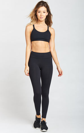 Selene Skinny Leggings ~ Black Firm Stretch
