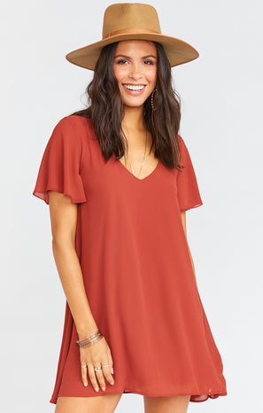 Kylie Mini Dress ~ Sienna Chiffon