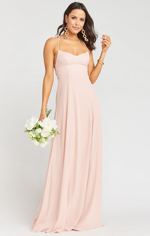 Godshaw Goddess Gown ~ Dusty Blush Crisp