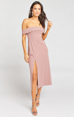 Haven Dress ~ Dusk Rose Villa Stretch