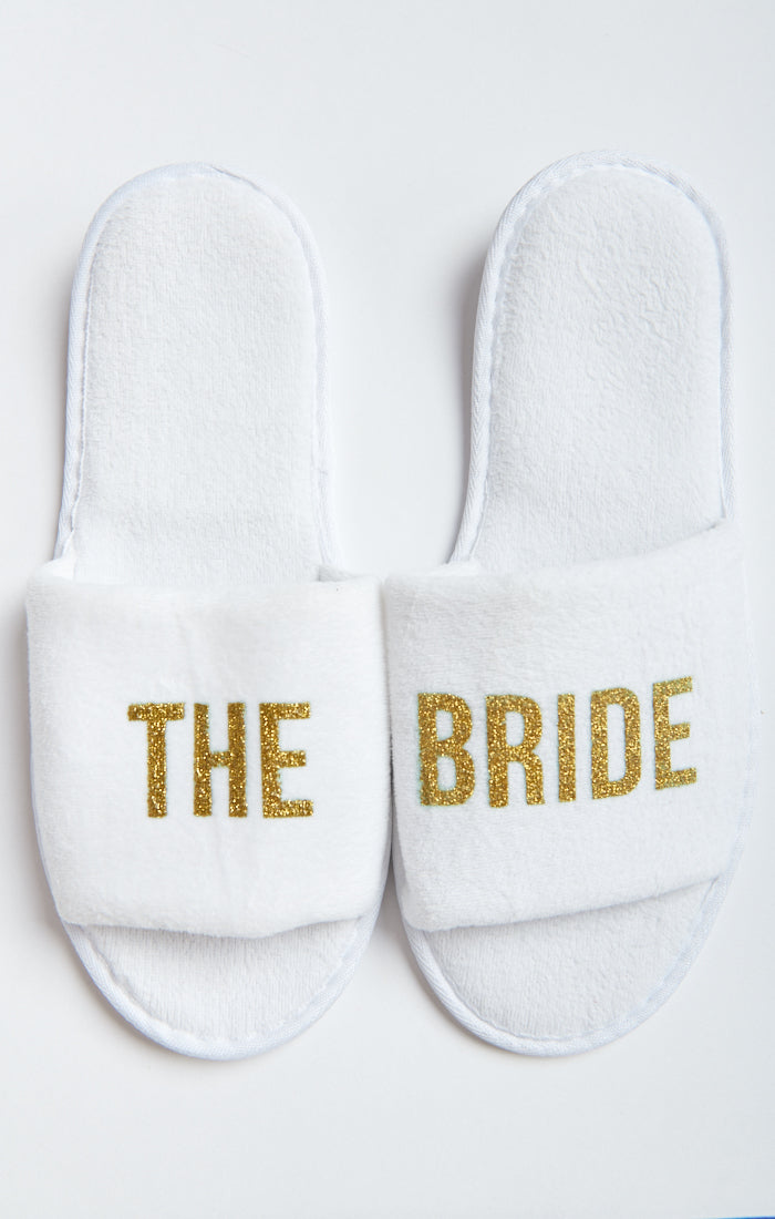 The Bride Slippers ~ White – Show Me