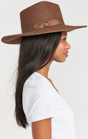 Lack of Color Coco Rancher Hat ~ Chocolate Brown