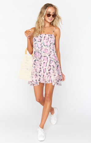 Christy Dress ~ Pretty Little Python