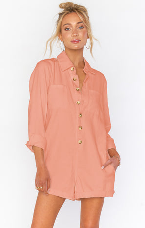 Tegan Jumper ~ Dusty Coral