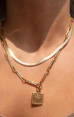 LUV AJ x SIVAN AYLA Roma Necklace ~ Gold