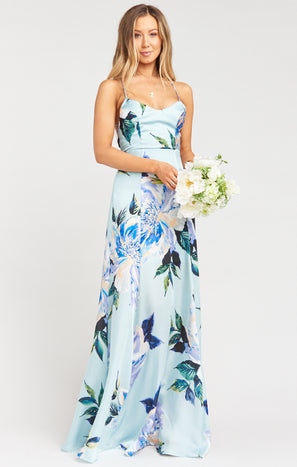 Godshaw Goddess Gown ~ Mint To Be Floral