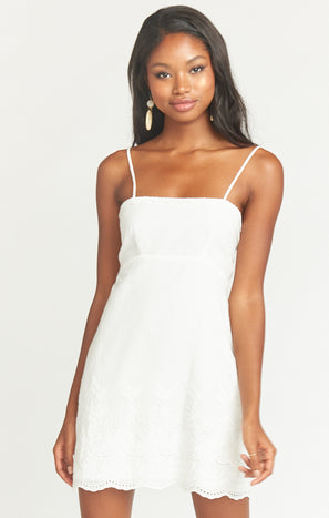 Esperanza Dress ~ Amalfi Eyelet