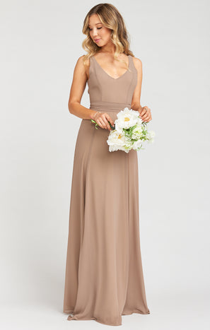 Jenn Maxi Dress ~ Dune Chiffon
